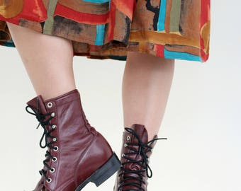 1980s Justin Roper Boots // Size 5 to 5-1/2 (5.5)