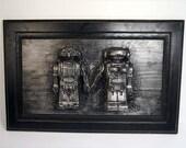 Love Bots *Original Sculp...