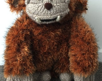 Ludo from Labyrinth Knitting Pattern PDF