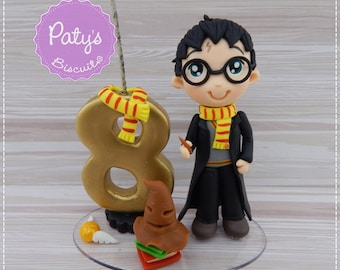 Harry Potter Candle and Cake Topper (Choose your number and character)