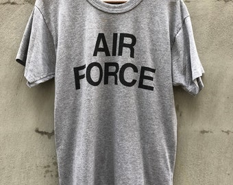 Vintage 1970s Air Force USA Military T-Shirt