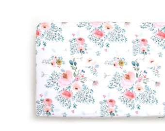 Changing Pad Cover Full Bloom. Change Pad. Changing Pad. Floral Changing Pad Cover. Changing Pad Girl.