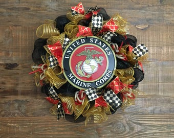 Marines Wreath, United States Marines Corps Wreath, U.S. Marine Corps, Marine Corps, Marines Wreath
