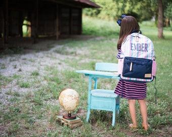 SALE-Monogrammed Backpack | Personalized Backpack | Monogrammed Book Bag | Jadelynn Brooke | Back to School | Teen Backpack | Girls Book Bag
