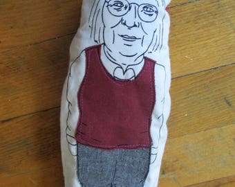 Jane Jacobs Finger Puppet