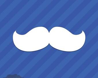 Mustache Vinyl Decal Sticker