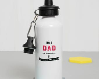 Number one daddy - Sports Lover - Gift For Him - Keep fit - Drinks Bottle