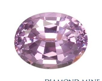 1.79 Carat Pink Sapphire, Oval cut Sapphire, Loose Sapphire Gemstone, Pink Gemstone, Non Heated Real Sapphire