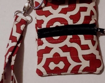Wristlet Phone case with earbud pocket