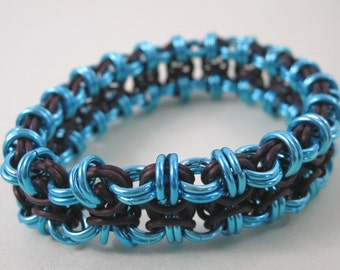 Bold Stretchy Chainmaille Bracelet