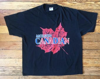 1990's Molson Canadian Beer Promo T-Shirt