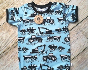 Blue Machines Cuffed T-Shirt - 12-18m