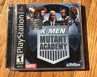 X-Men Mutant Academy - Playstation 1 (PS1)