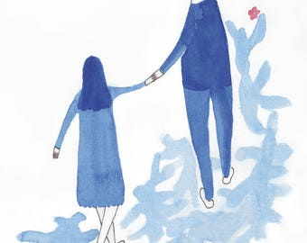 Have lan shi is a (love is blue No.6)