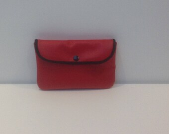 WALLET imitation leather and cotton ASANOHA