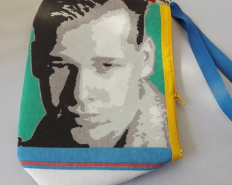 New Kids on the Block Donnie Fabric Wristlet   NKOTB