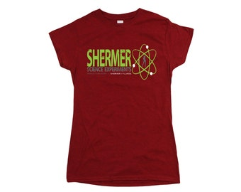 Weird Science: Shermer Science Ladies Fit T-shirt