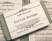 Facial Toner Soap, Handma...