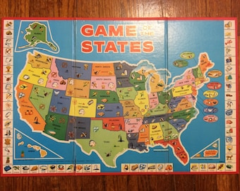 Vintage wall maps   Etsy