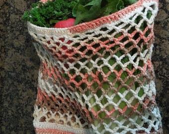 PATTERN Crochet Market Bag PATTERN -  PDF Great Gift Idea
