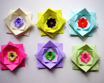 CUSTOM ORDER 6x origami bows