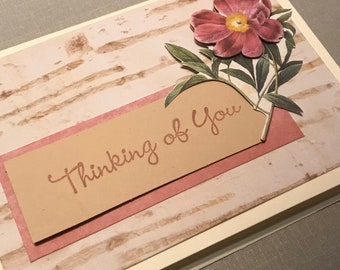 Handmade Card - Thinking of You