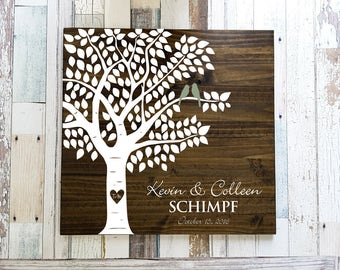 Guest Book Tree Etsy