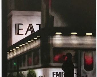 Postcard featuring a famous 'New Yorker' cover - diner. BIG discount for multiple purchases!!