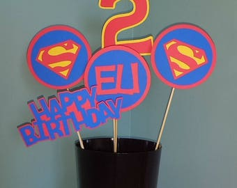 Superman party Etsy