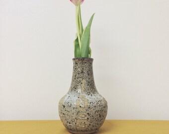 Ceramic Vase / Vintage Pottery Vase