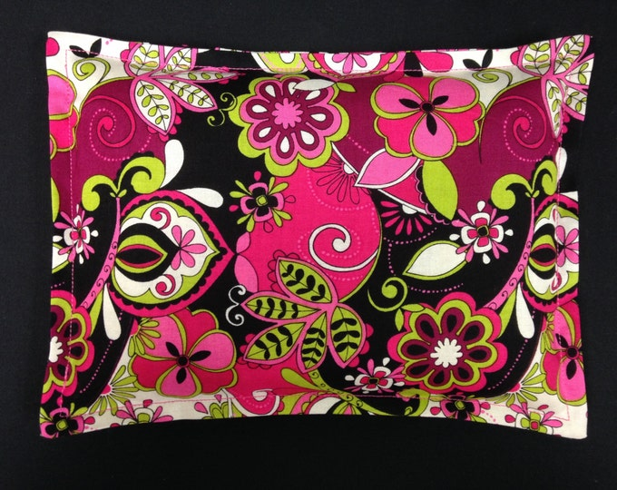 Corn Heating Pad, Corn Bag, Microwavable Heating Pad, Eco-friendly Gift, Heated Pillow - Jacqueline Floral