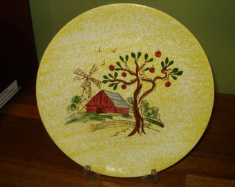 Blue Ridge Southern Potteries Windmill Pattern Dinner Plate