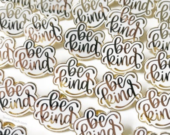 Nearly Perfect Pins // hard enamel pin // lapel pin // flair brooch // collar pin // hat pin // hand lettering // modern calligraphy