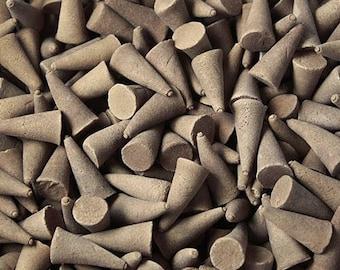 Set of 20 incense cones