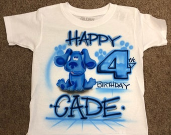 Blues Clues shirt Blues clues birthday blues clues party blues clues invitations blues clues invite blues clues party favor