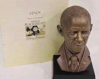 Thomas Blackshears President Barack Obama Bust