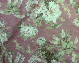 Clarinda color Rose Richloom Jacquard Flower Floral Fabric