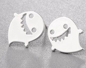 Cute Ghost Stud Earrings