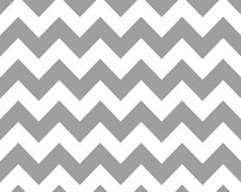 Gray Medium Chevron From Riley Blake Fabrics