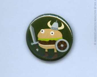 "Fantasy Warburger 1"" Pin-Back Button"