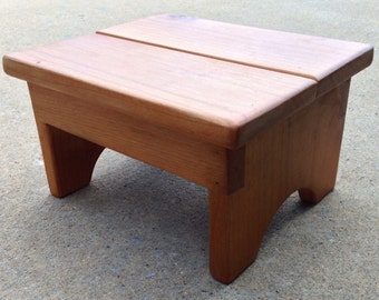 Kids step stool / Small step stool / Rustic Step stool
