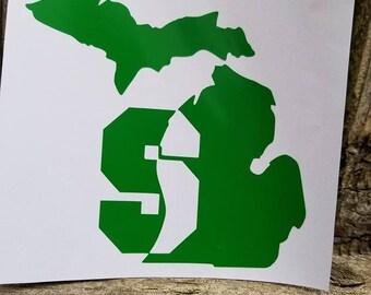 Michigan Spartan's Decal