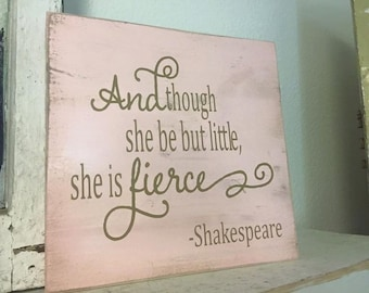 She is Fierce