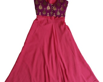 Indowestern long party dress