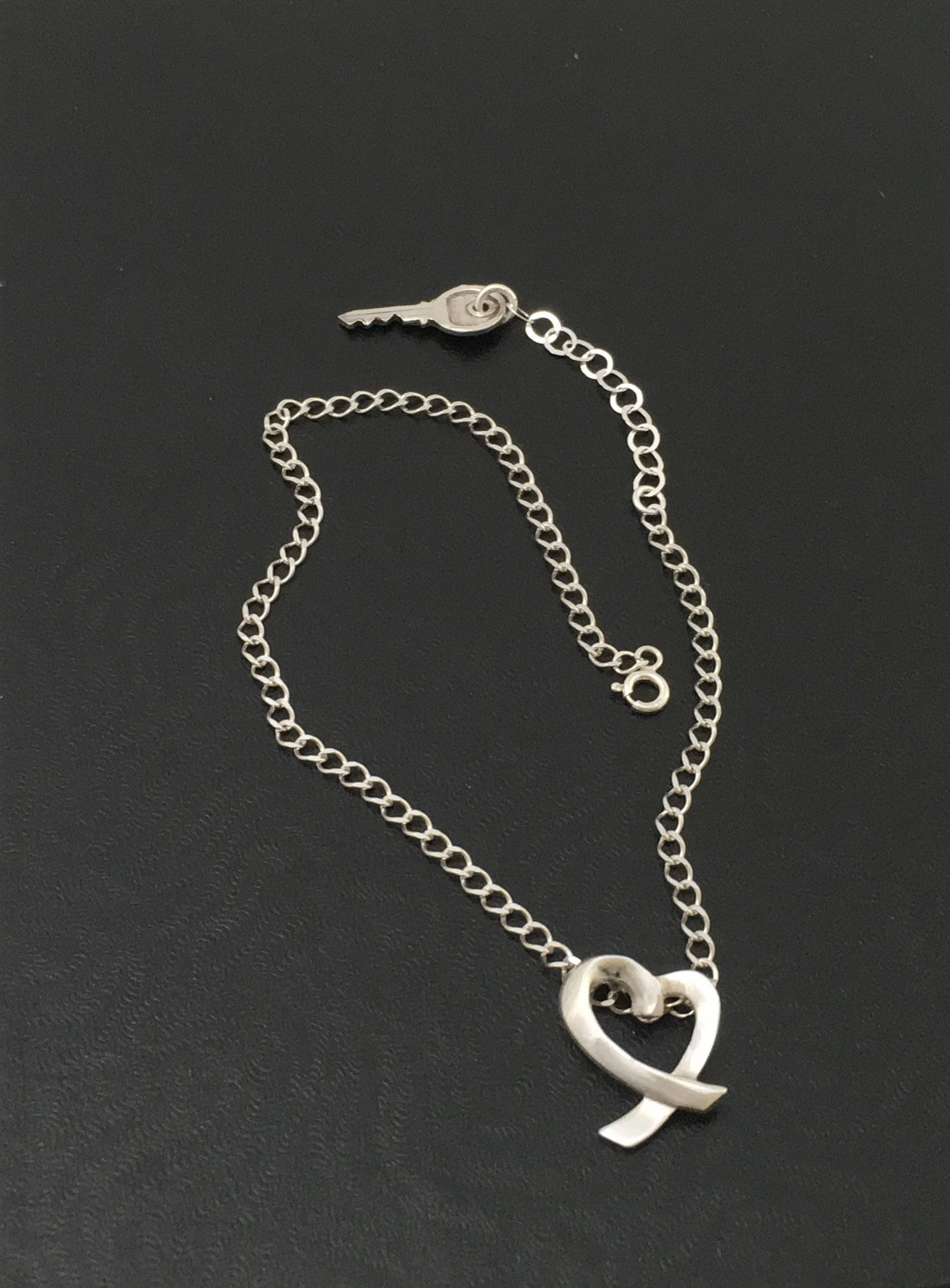 plated lock heart key hemp fullxfull with glass il p and anklet metal beads macrame charms black silver