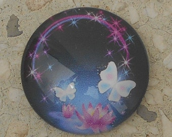 Collection Butterfly glass cabochon