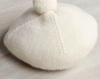 Bonnet bébé / Explications tricot en anglais / PDF Téléchargement Instantané / 4 Tailles : Naissance / 3 / 6 - 9 et 12 - 18 mois