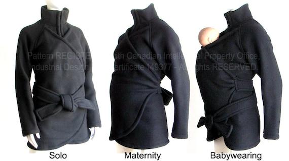 Items Similar To Maternity No Insert Babywearing Coat No