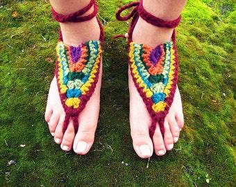 Barfuss Sandalen - Gypsy Rain - Erdung, Erdung Sandalen