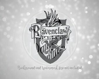 Harry Potter Ravenclaw Crest Vinyl Decal